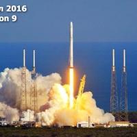 Уникално приземяване на ракета на SpaceX