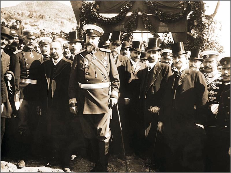 княз Фердинанд 1908 година